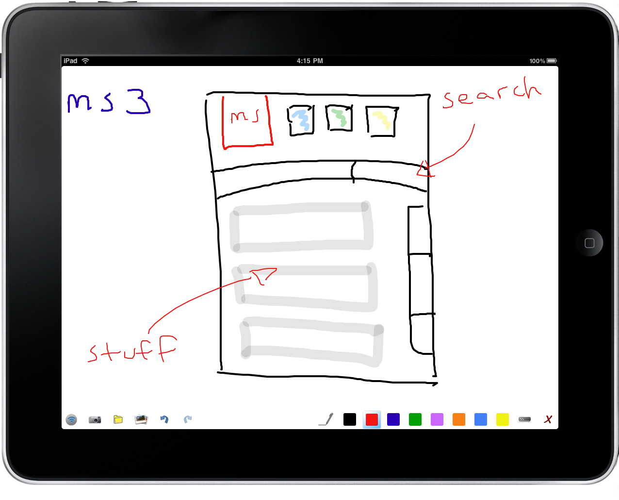 AirSketch MS3