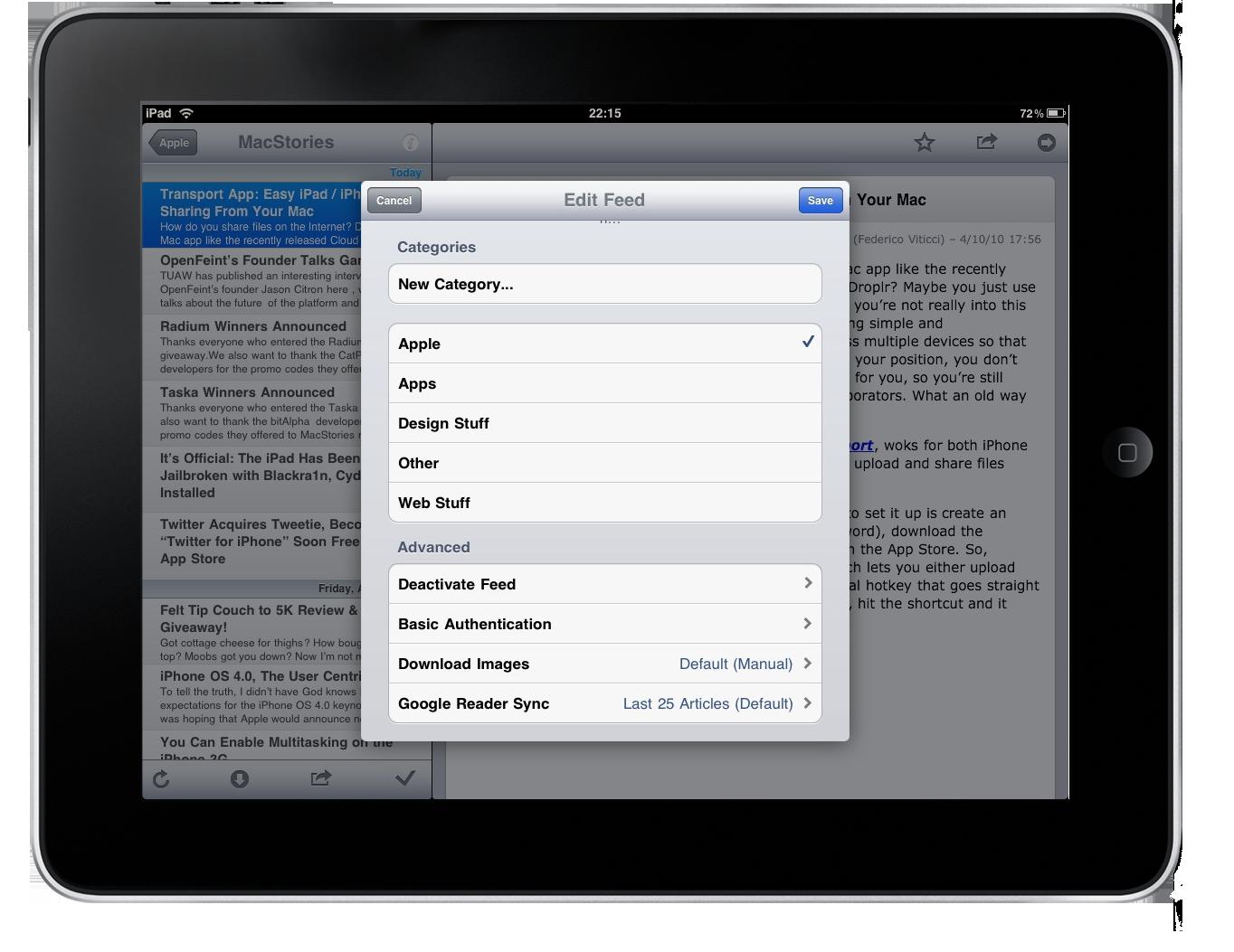 NewsRack iPad